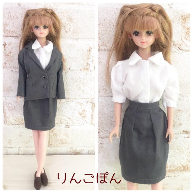 5d83bdbd8ea4a ジェニーちゃんサイズのジャケットとスカートを作ってみました。 : リカ ...