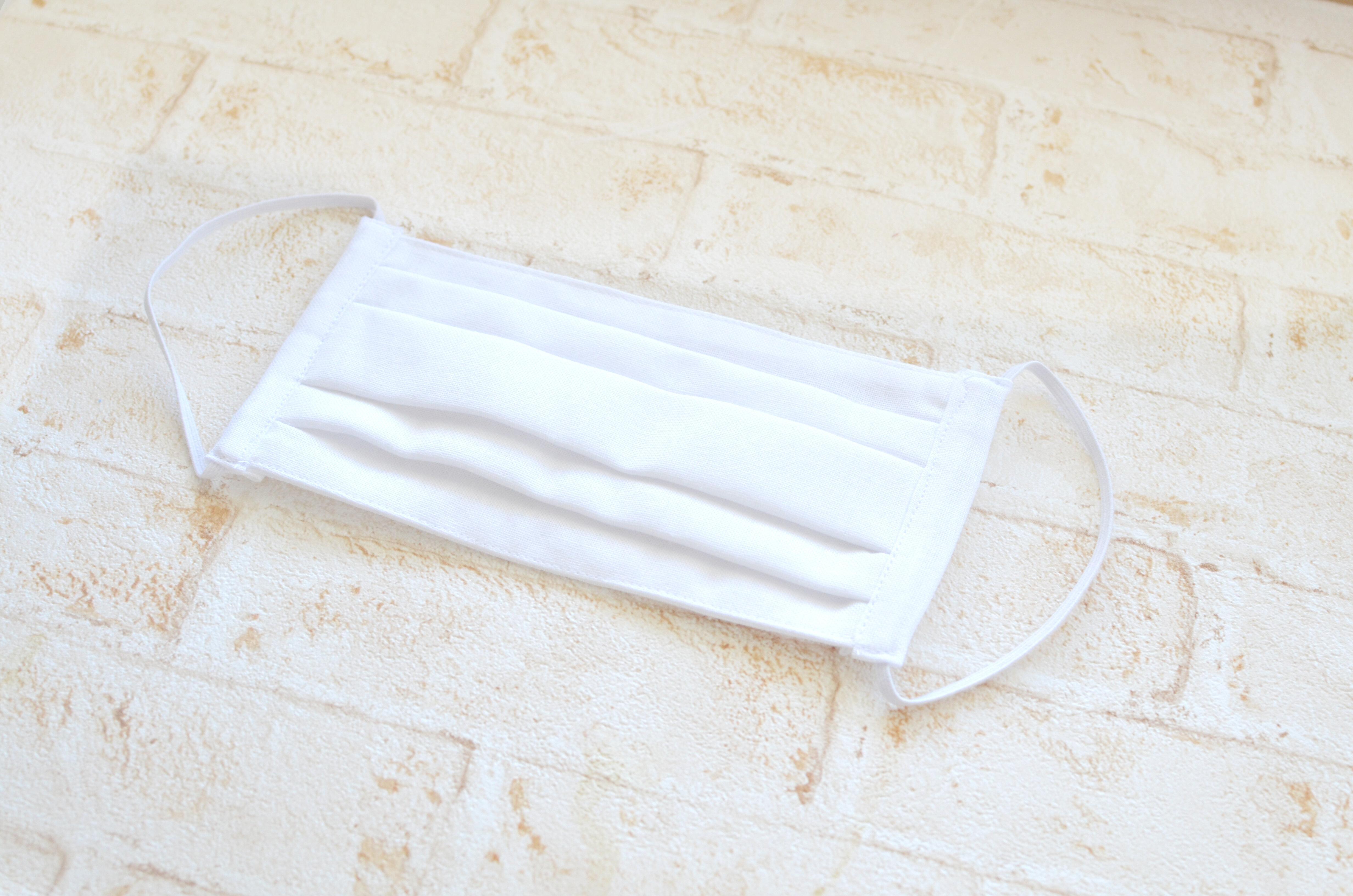 マスク の 型紙 プリーツ