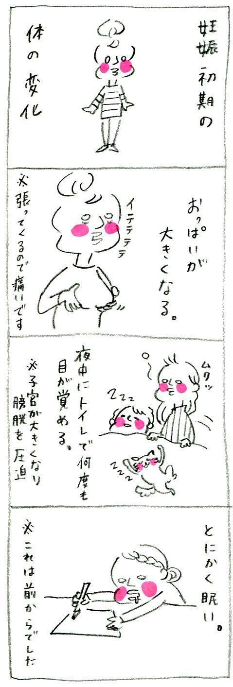 【妊娠日記19】変化