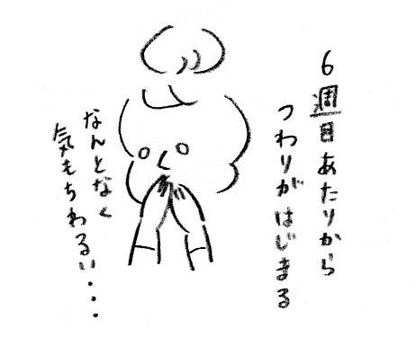 【妊娠日記5】つわりのはじまり1