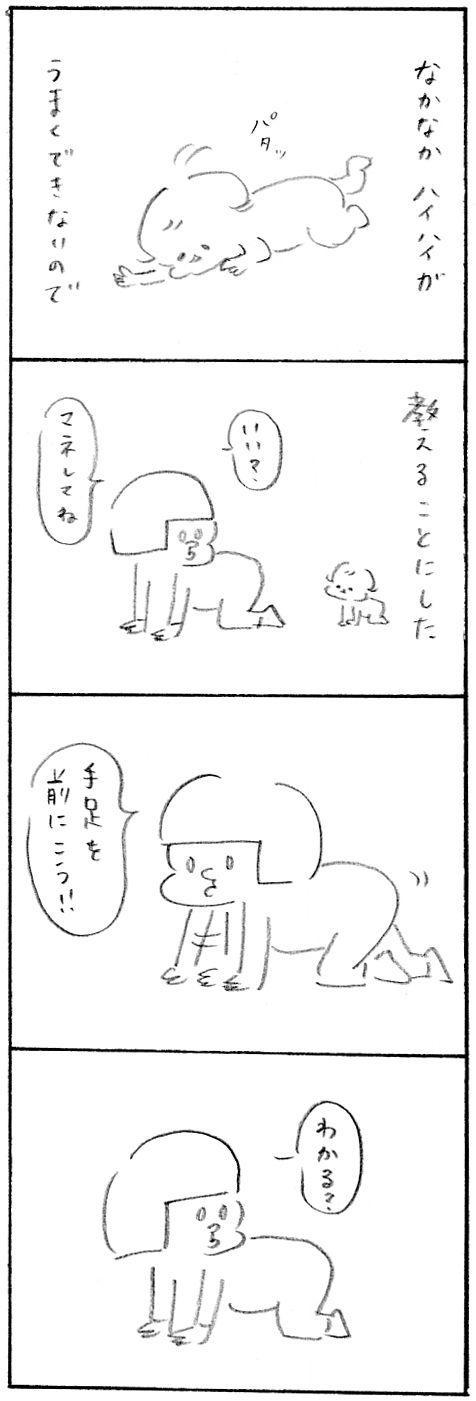 【育児日記47】おもてたんと違う1