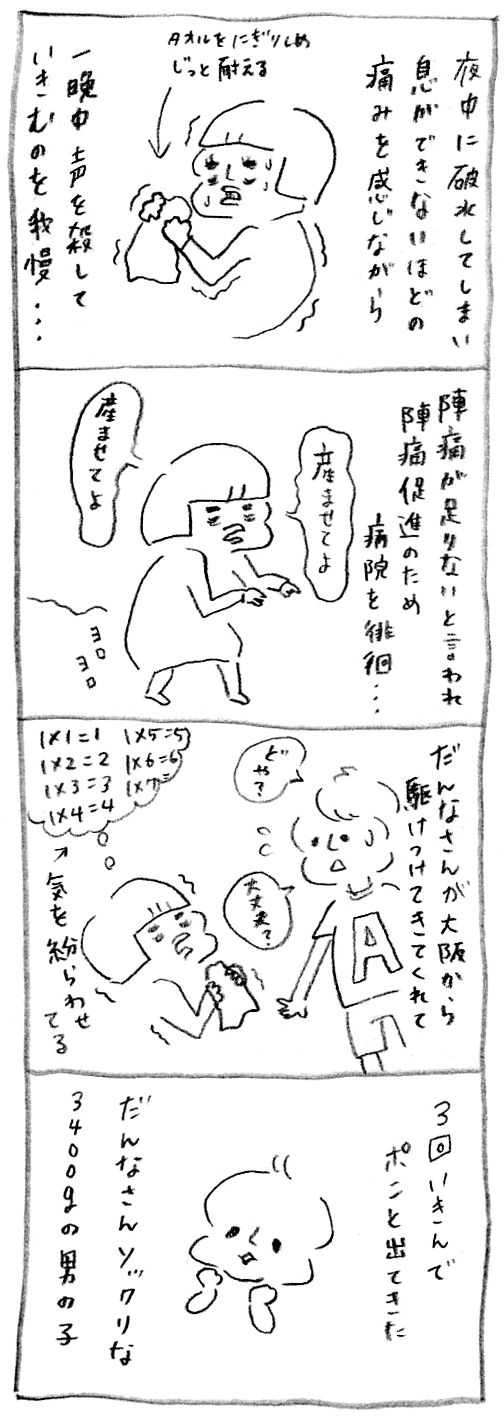 【妊娠日記41】出産