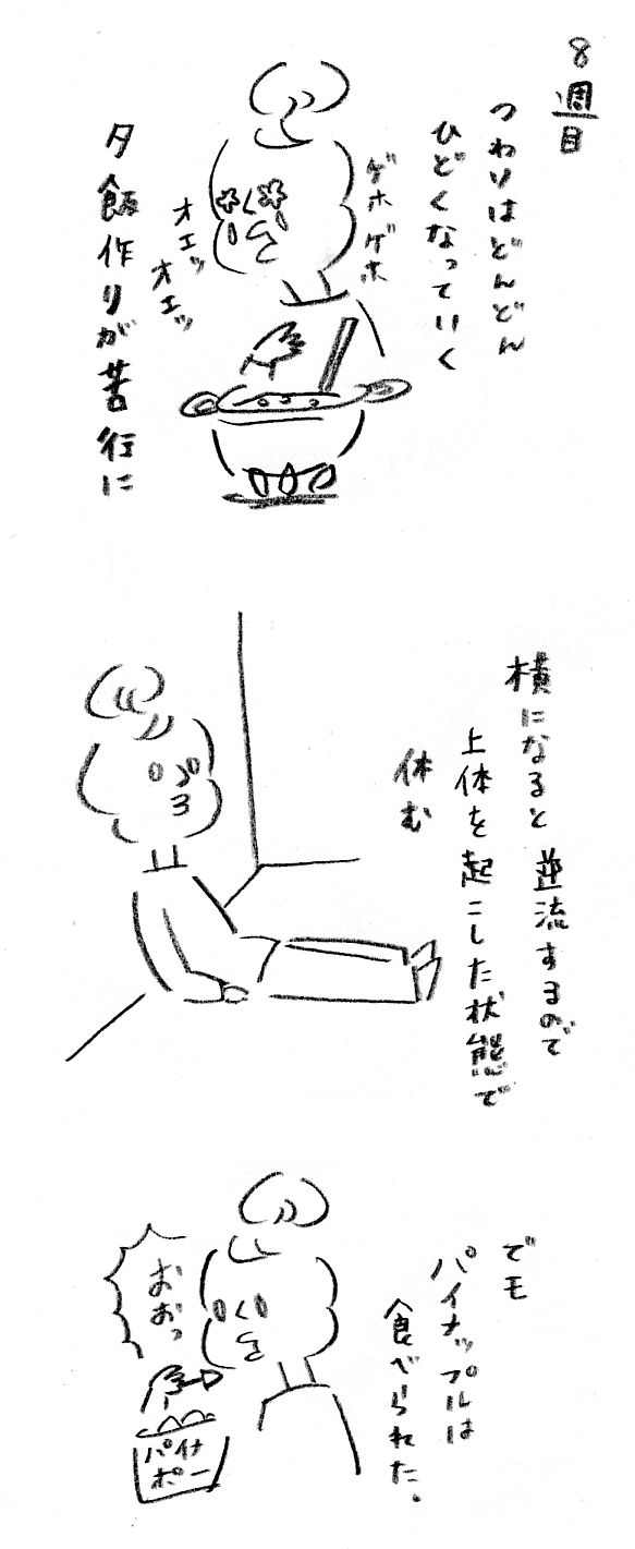 【妊娠日記8】つわりピーク時~第一波~