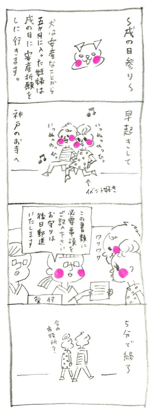 【妊娠日記25】戌の日