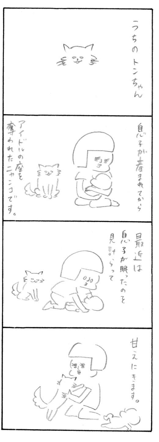 【育児日記66】トンちゃん1