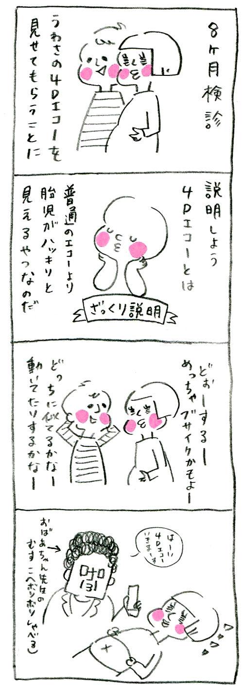 【妊娠日記34】4Dエコー