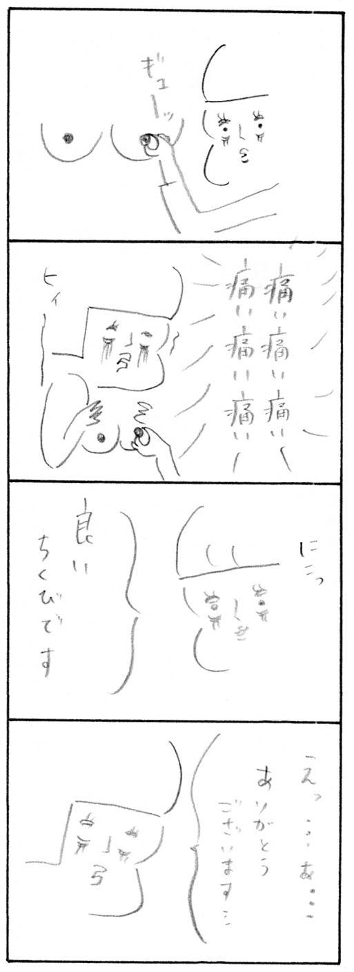 【妊娠日記エピソードゼロ】乳首マッサージ6