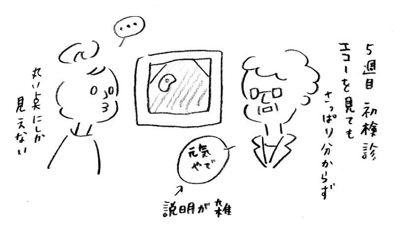 【妊娠日記3】初めての検診