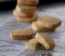 チーズと粗挽きペッパーの米粉サブレ
