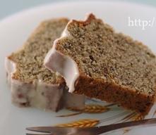 ジンジャーティーフロスティングケーキ