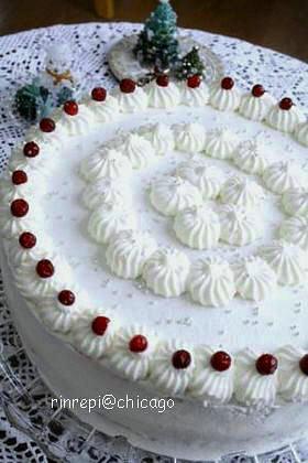 ミルキーホワイトキャラメルケーキ