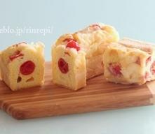 ゴーダチーズとプチトマトのケーク・サレ