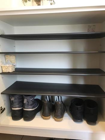 下駄箱の靴