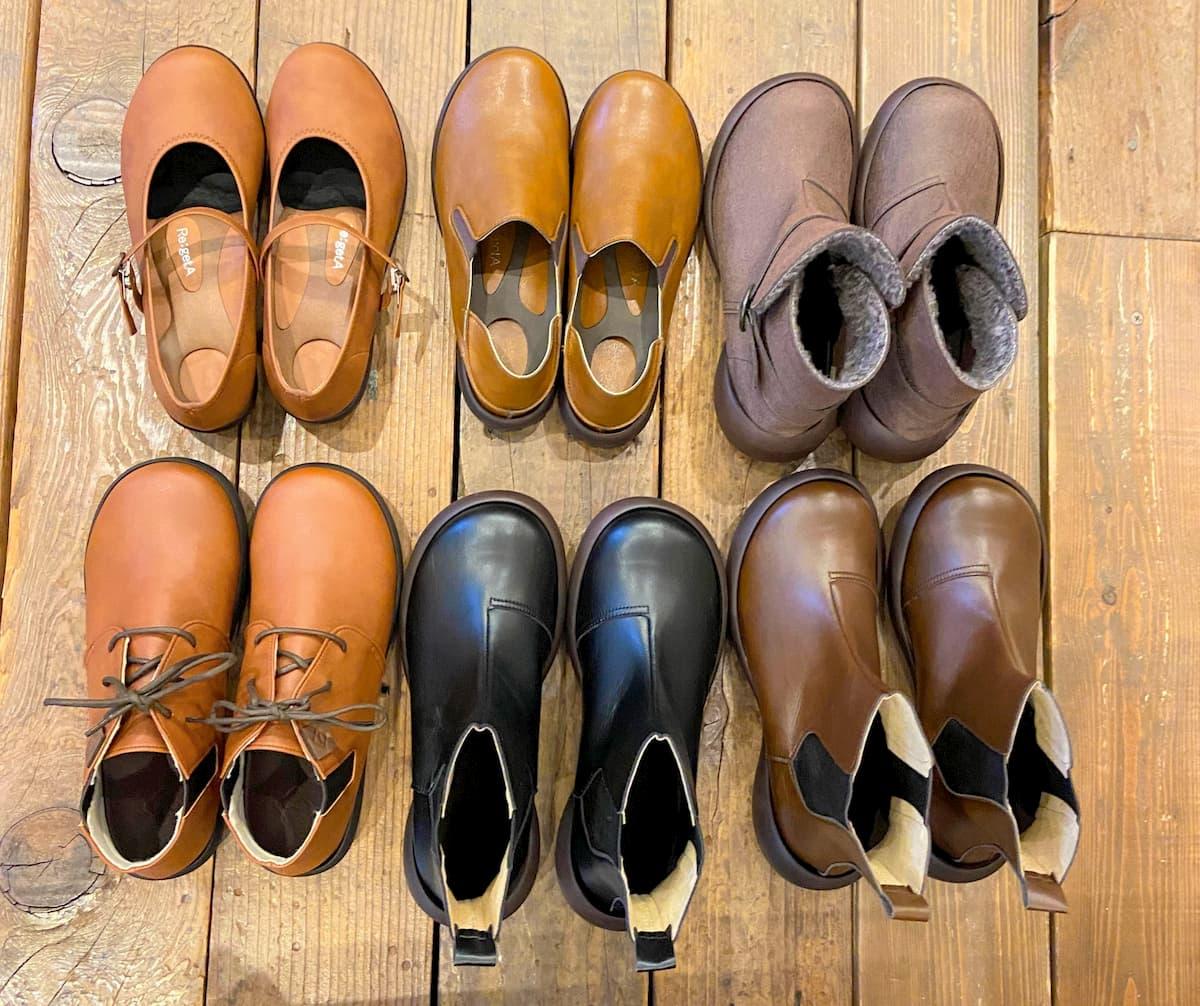 リゲッタカヌーの靴