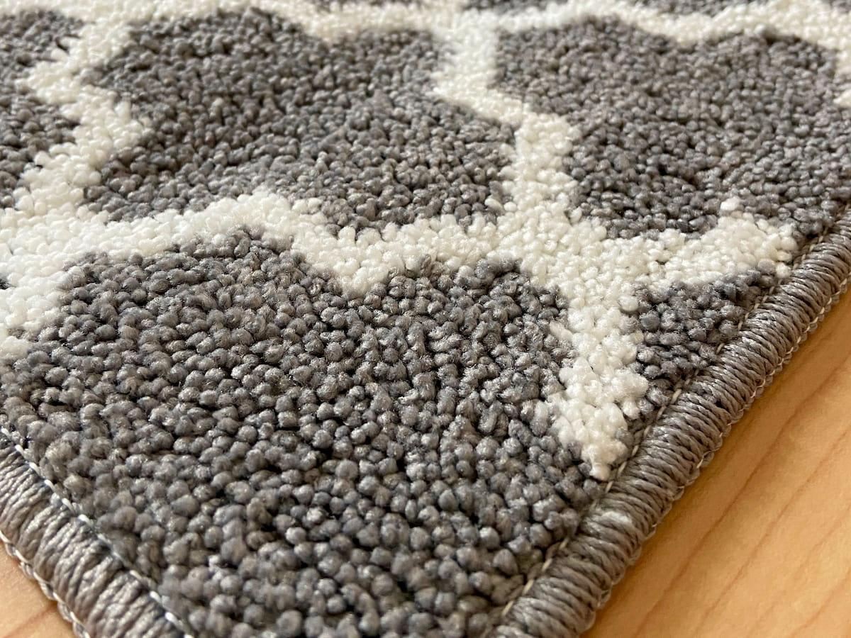 ニトリのキッチンマットの毛足