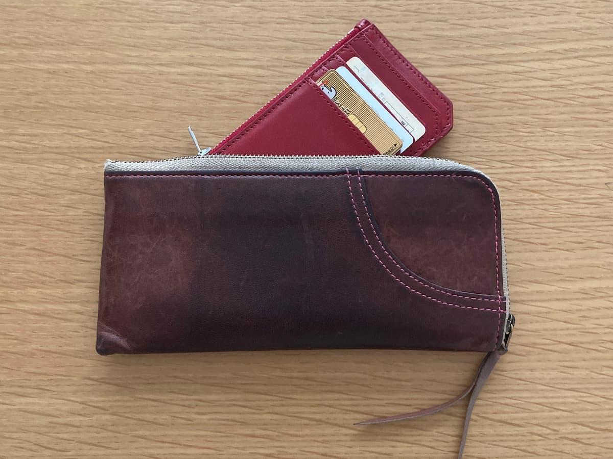 長財布に入る極小財布