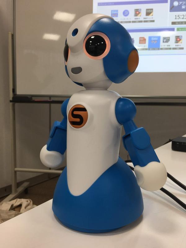 介護用のコミュニケーションロボット「sota」