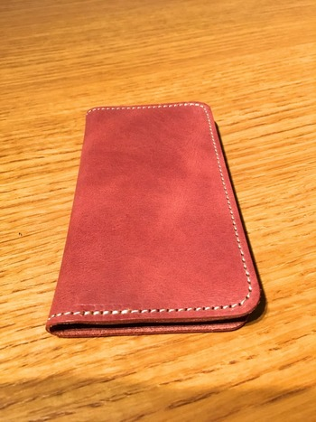 iPhoneの手帳カバー