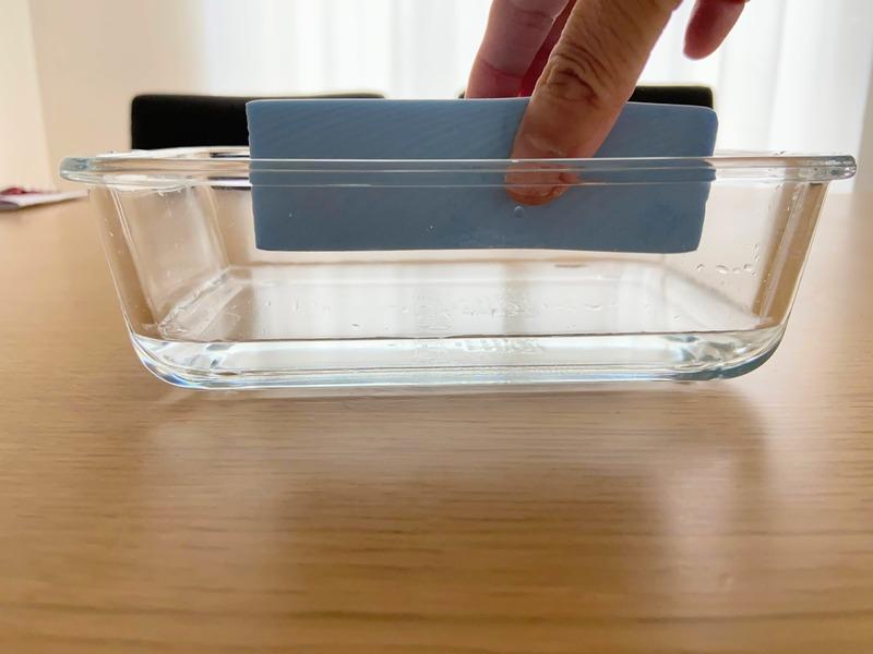 給水スポンジの威力