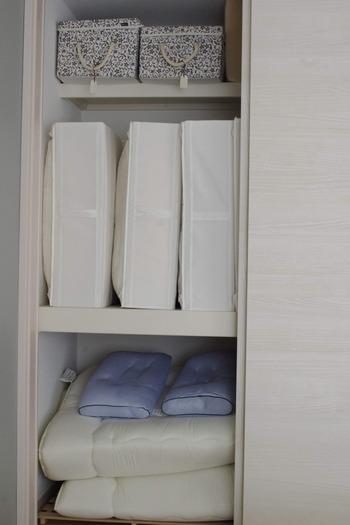 布団はIKEAのボックス