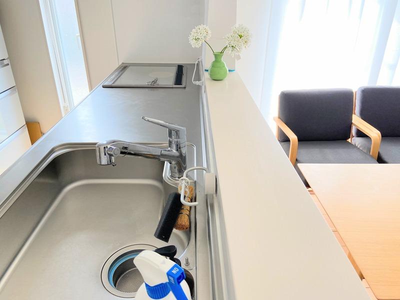 キッチン周りに水分を残さない