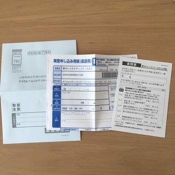 DEMECAL血液検査キット胃がんチェックリスト