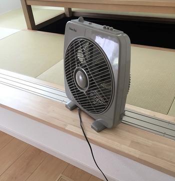 古い扇風機