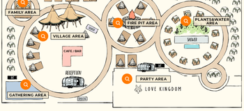 AREA MAP - WILD MAGIC -