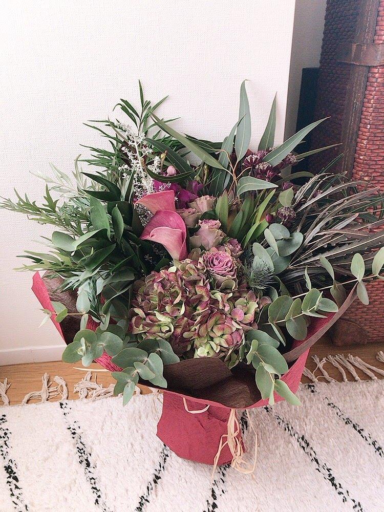 結婚記念日に送った世界の花屋
