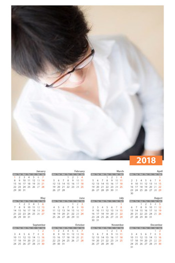 PhotoFunia Calendar Regular 2018-10-05 05 13 08
