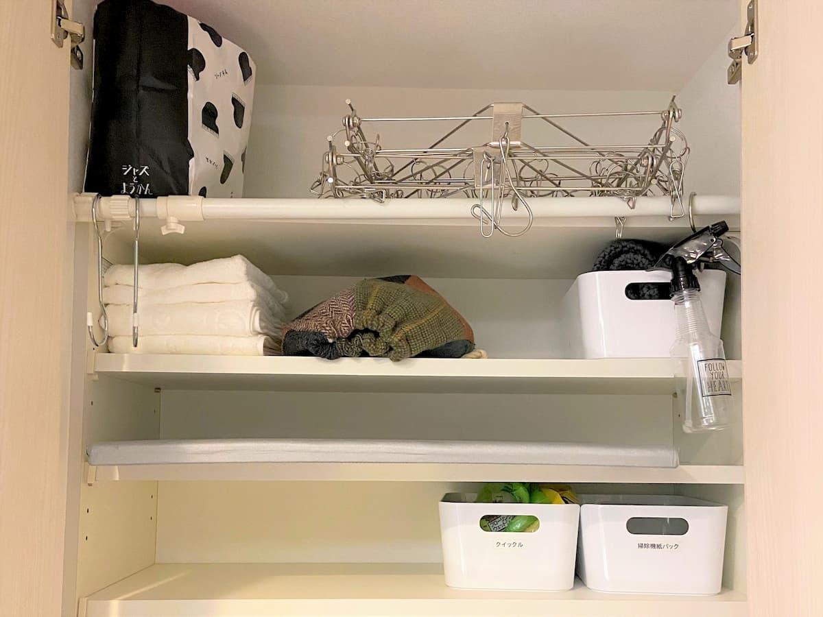 洗面所の収納見直し