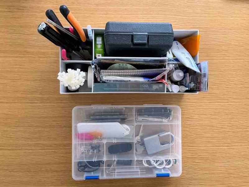 整理した工具