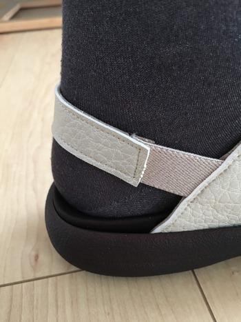 リゲッタカヌーの履き方