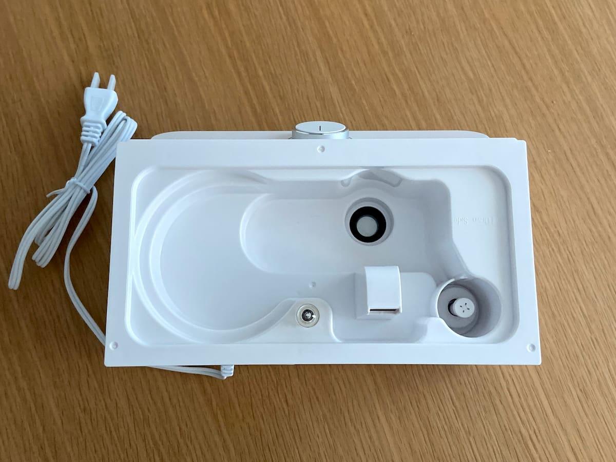 次亜塩素酸水を入れられる加湿器