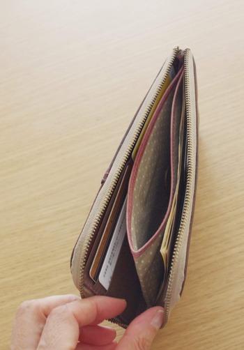 長財布の中身