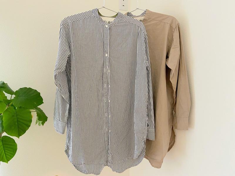 洗濯後のシャツ