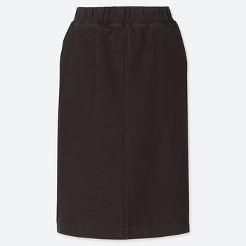 デニムジャージスカート