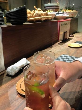 祇園で乾杯