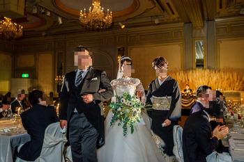 娘の結婚式のモーニングは5L