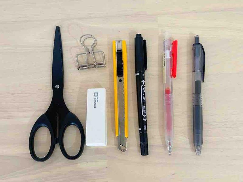 頻繫に使う筆記用具
