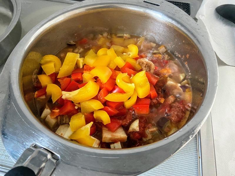 コストコのビーフパテで作るカレー