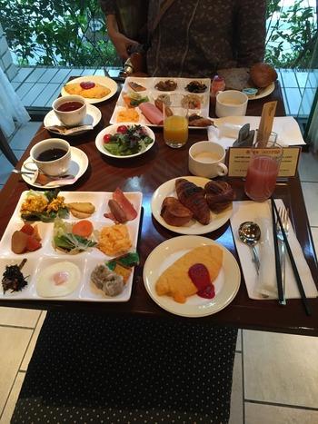 メトロポリタンホテルの朝食