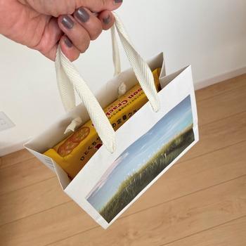 紙袋の使い回し