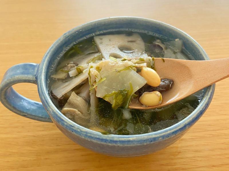 スープに入れる