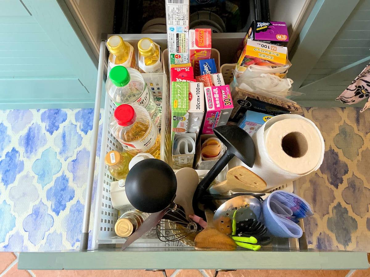 キッチンが使いやすくなる片付け