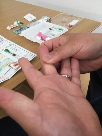 DEMECAL血液検査キット胃がんチェックリストやり方