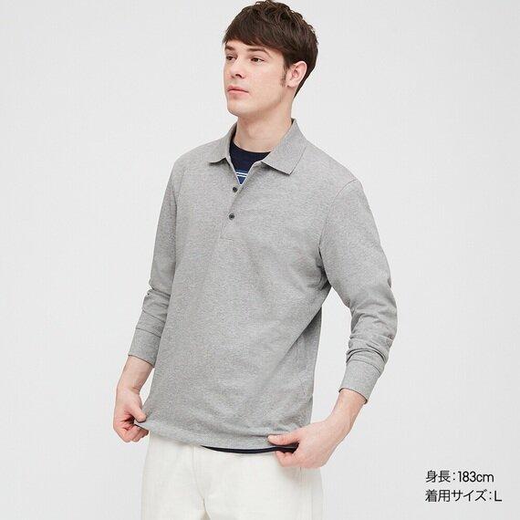 エアリズムUVカットポロシャツ