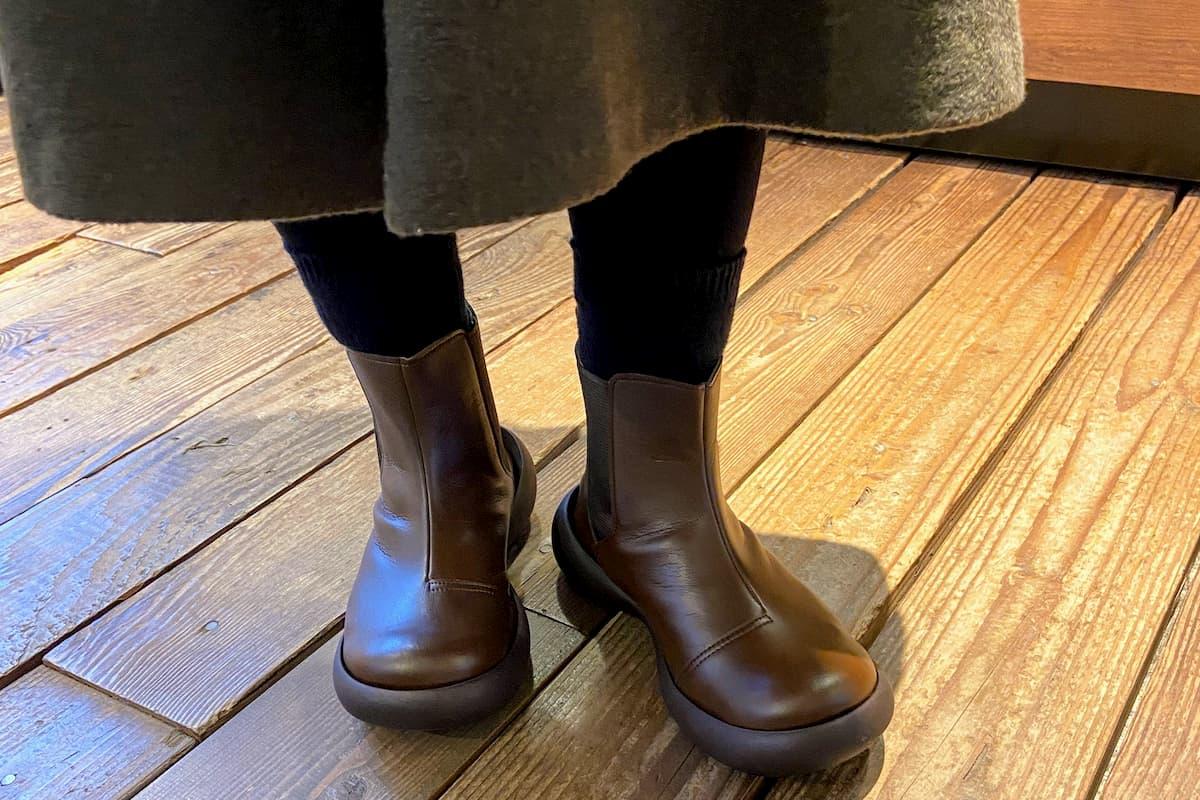 姉が買ったリゲッタカヌーの靴