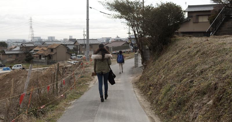 ホタルの道 冬 ②