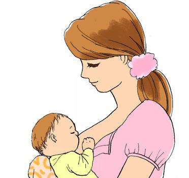 私の母乳育児について